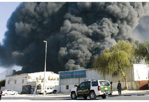 Are warehouse fires linked with poor adherence to electrical fault prevention?