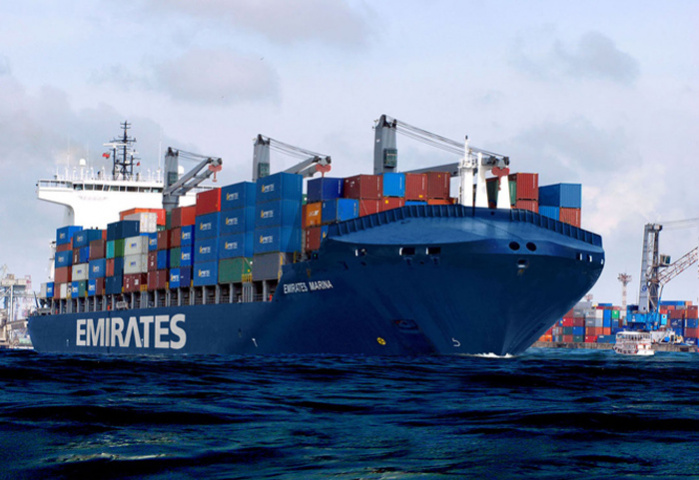 Emirates Shipping Line is operating the new service with three other carriers
