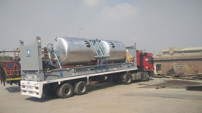 The company moved 16 OOG units including steam boilers, gear motors, large tanks, pipes and pumps accessories for PMICO.