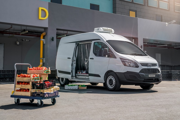 Transit Customs optimised body offers class-leading load space up to 8.3 cubic-metres, a wide side-load door and 180 degree rear opening doors.