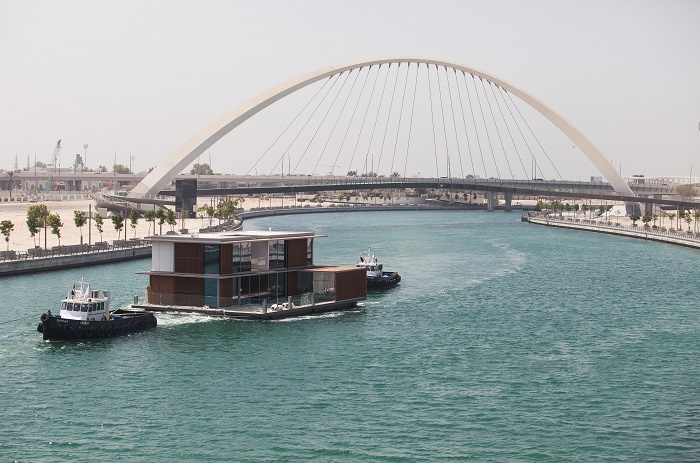The logistics challenges associated with getting the villas and other floating assets, such as the yacht club, in place on time for Cityscape Global 2017 were complex and required stringent attention to detail to overcome, according to Dubai Properties.