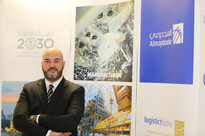 Oussama Abba, general manager, Middle East operations, Almajdouie Logistics.