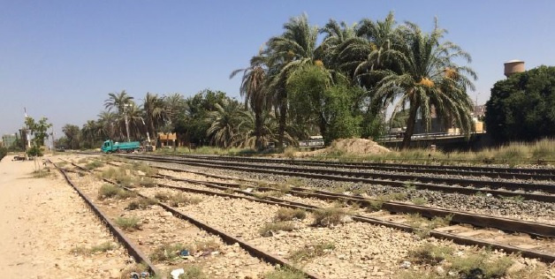 The stretch of rail is located in the Upper Egypt portion of the AlexandriaCairoAswan rail corridor.