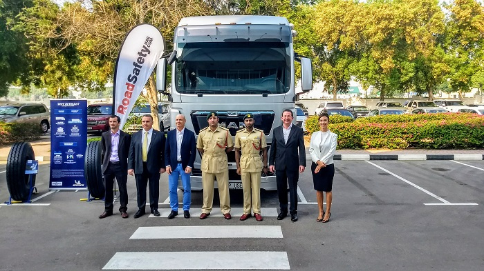 The event highlighted the ongoing efforts by MAN to increase road safety, both by building safety into its trucks and fostering a culture of safe driving.