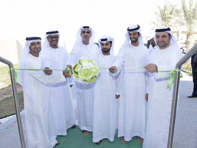 The opening of the new center in Abu Dhabi was celebrated with a ribbon cutting ceremony attended by Khalifa Al Ali, director general of Food Security Center-Abu Dhabi.