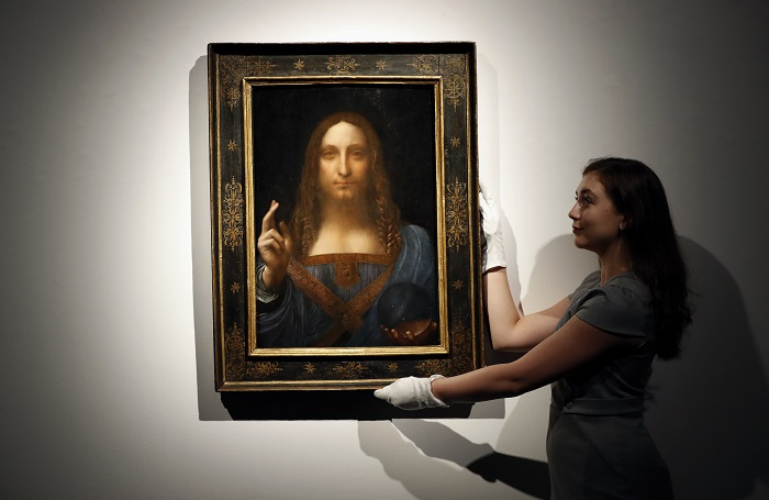 The painting is widely considered to be the most expensive in the world.