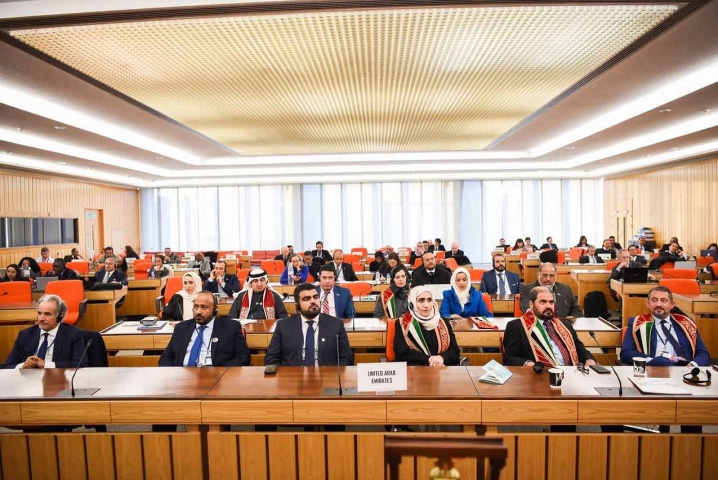 UAE officials take their place on the IMO council following successful bid for membership.