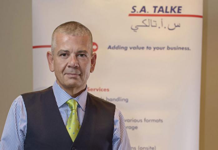 Oliver Klingbeil, managing director of SA Talke.