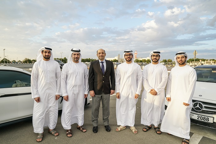 It was developed by AUS students Saud AlQasimi, Abdalla Al Noman, Abdulla Ahli and Mohamed Al Marashda.