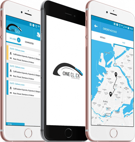 Founded in 2015, One Clicks platform connects drivers, point-of-sale capabilities and a call center with businesses needing on-demand delivery.