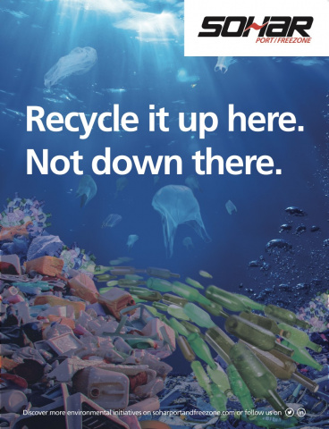 The kick-off campaign shows an underwater view of a beautiful coral reef. However, when you look more closely the coral is made of colourful plastic waste, the jellyfish are floating plastic bags, and a passing school of fish are in fact old bottles.