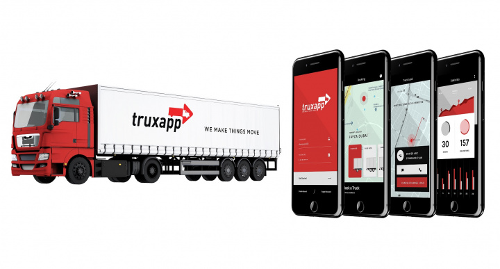 Truxapp has aggregated over 350,000 trucks and over 200 corporate clients as a group during the last few years, with over 40% of the revenues coming from the GCC alone.