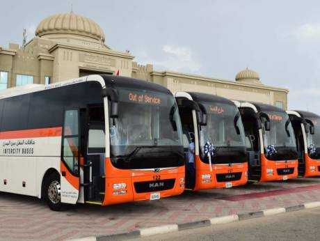 The UAEs first smart public transport buses join the SRTAs intercity fleet and will be deployed on various routes to the six other Emirates.