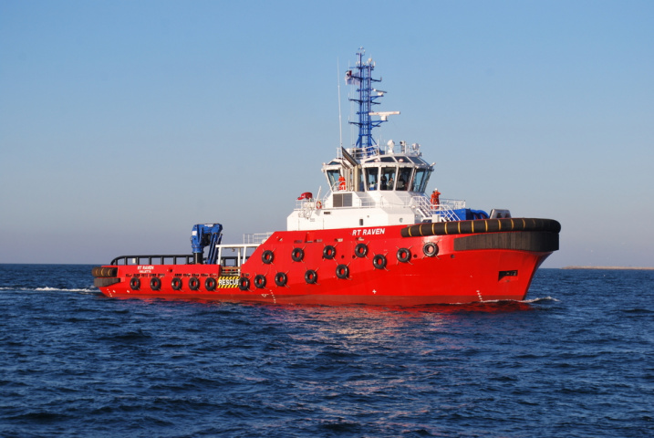 The RT Raven is the sixth Robert Allan Rotortug design to be sold, managed, engineered and purchased through Damens yard in Hardinxveld, while it is the first to be built in the UAE.