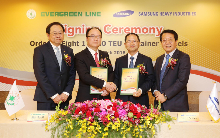 The contracts were signed by EMC chairman Anchor Chang and SHI president & CEO J.O. Nam.