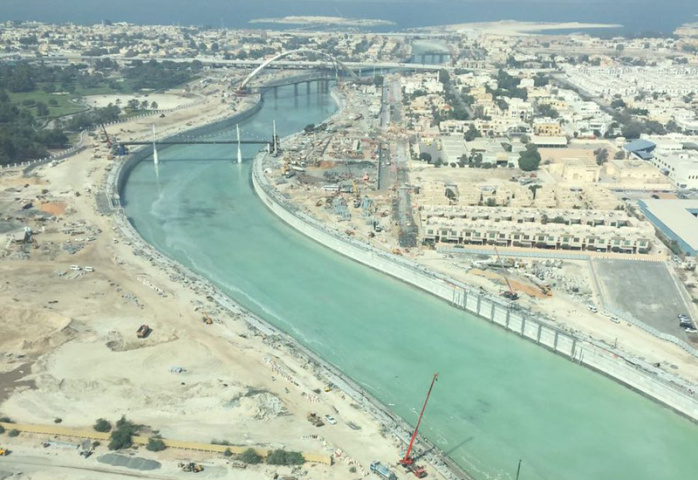 The Waste Management Department is responsible for the cleaning of Dubai Creek, Al Jaddaf Creek, Dubai Water Canal and Business Bay Canal.