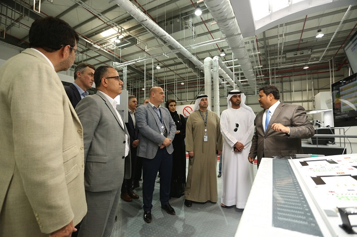 The opening of Gulf Printing and Packaging was attended by senior executives of Abu Dhabi Ports and Gulf Printing and Packaging as well as a delegation from McDonalds and HAVI.