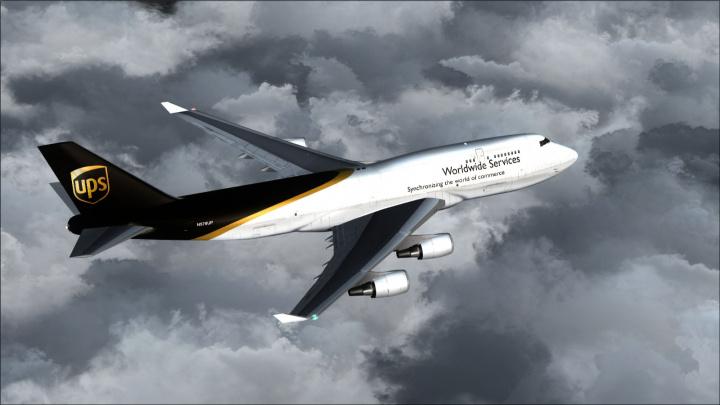 Ups, Express logistics, Delivery, Drones