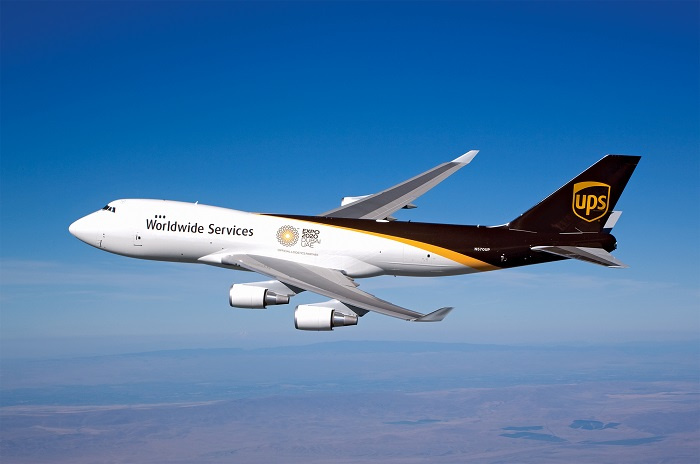 The Louisville-Dubai flight leg is part of an around-the-world flight route that begins and ends at UPS Worldport in Louisville, KY.