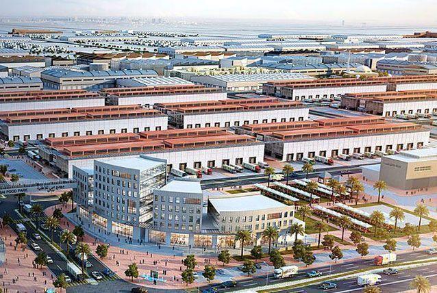 Dubai wholesale city, Warehouse, Logistics, Dubai