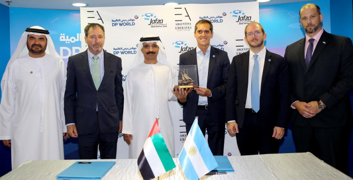 The Emirates Argentina Business Platform has opened its office in Jebel Ali Free Zone (Jafza) during a meeting between Sultan Ahmed Bin Sulayem, group chairman and CEO of DP World and chairman of Ports, Customs and Free Zone Corporation, and Miguel Braun, Argentine Secretary of Trade and a high-level delegation visiting the UAE.