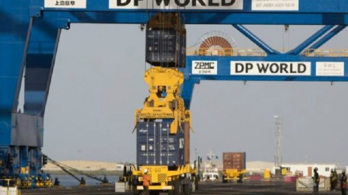 Dp world, Uae, Middle east, Container
