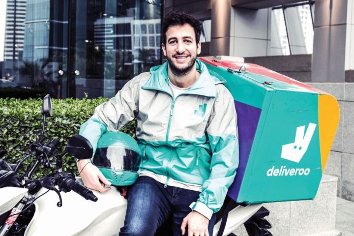 Deliveroo, Food delivery, Amazon