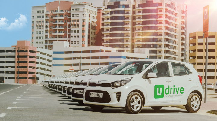 The Udrive service in Sharjah will roll out with a fleet of Nissan Sunny's and Kia Picanto's with free inclusions of fuel, parking and comprehensive insurance for all its members.