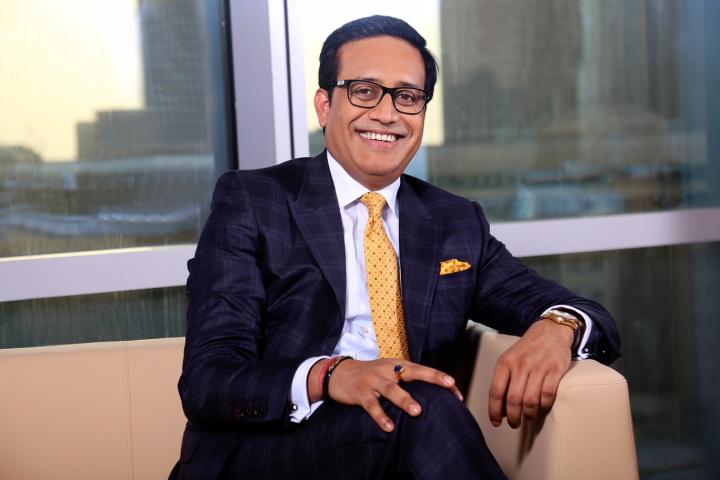 Shailesh Dash, chairman of Gulf Pinnacle Logistics.