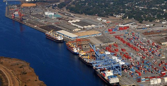 Currently owned and operated by the Diamond State Port Corporation (DSPC), the Port of Wilmington is a fully serviced deepwater port and marine terminal, located on 308 acres at the confluence of the Delaware and Christina Rivers.