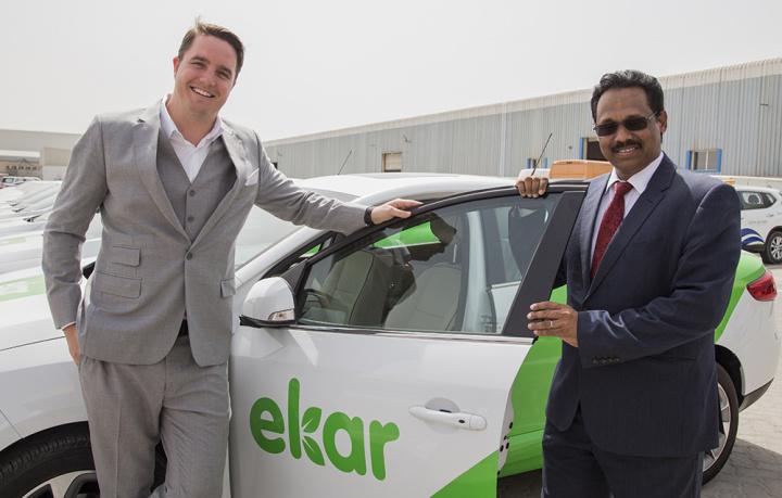 Ekar, Carsharing, Uae, Car rental, Abu dhabi