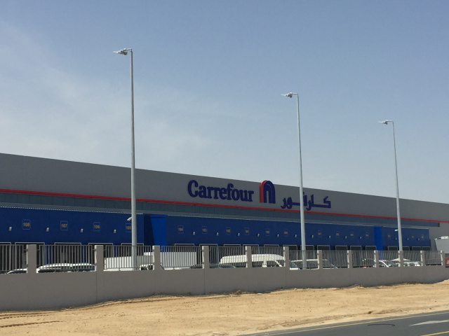 Carrefour's Regional Distribution Centre in Dubai is the largest FMCG warehouse ever built in the region.