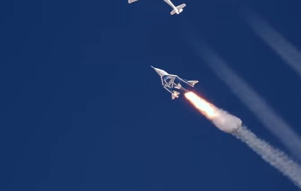 Virgin Galactic, Richard branson, Space craft