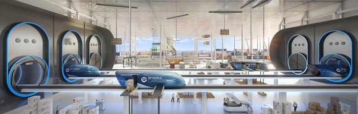 Dp world, Cargospeed, Virgin hyperloop, Richard branson