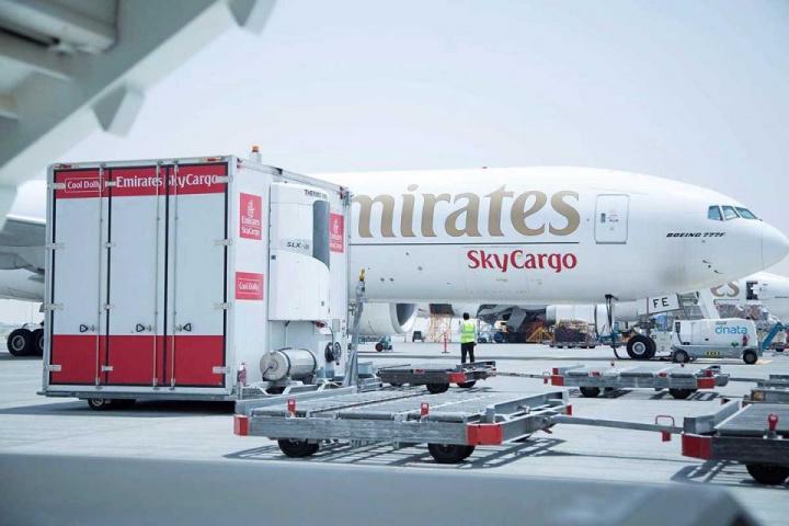 Emirates skycargo, Ireland, Dublin, Air cargo, North america
