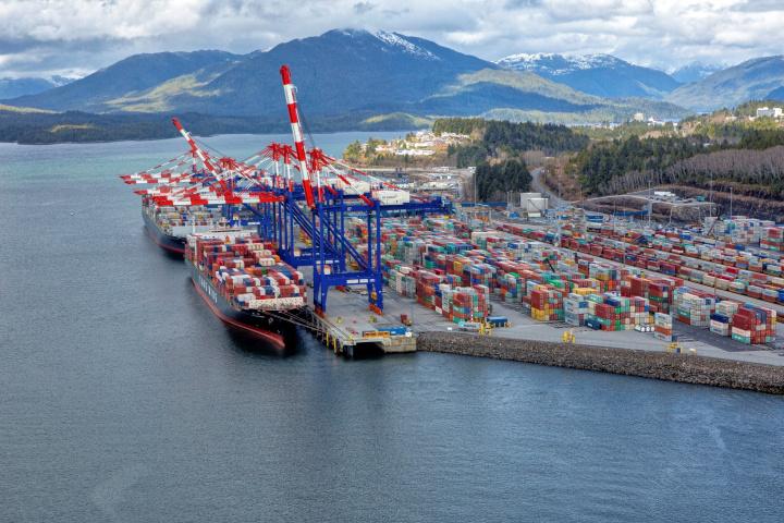 Dp world, Canada, Port of Prince Rupert