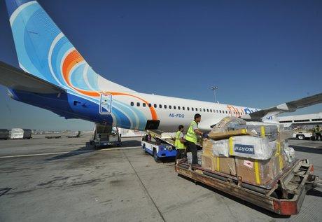 Air freight, Air cargo, Flydubai cargo, Italy, Dubai