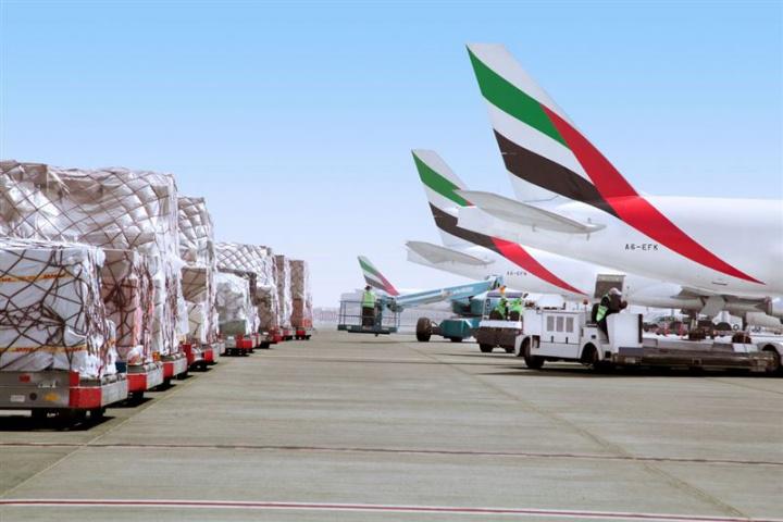 Emirates skycargo, Santiago, Chile, Salmon, Air freight