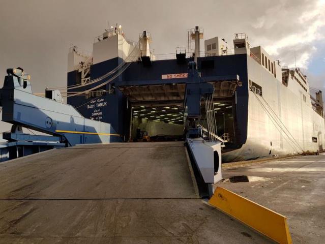 Bahri, Maritime, Shipping, Le havre, France, Ro-ro