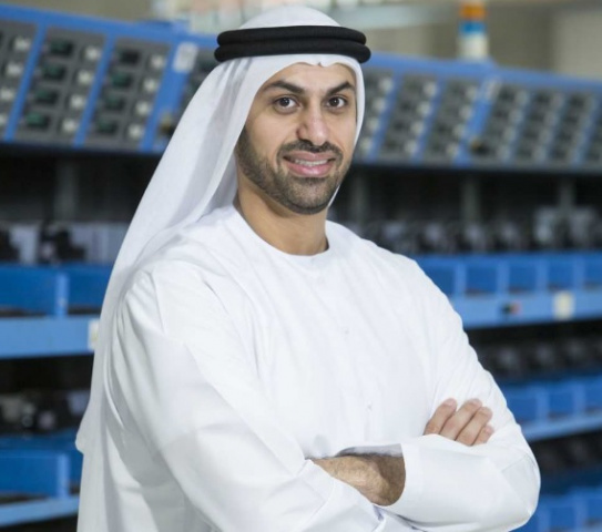 Abdulla Mohammed Alashram, acting group CEO of Emirates Post Group.