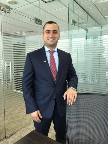 Alain Kaddoum, general manager of Swisslog Middle East.