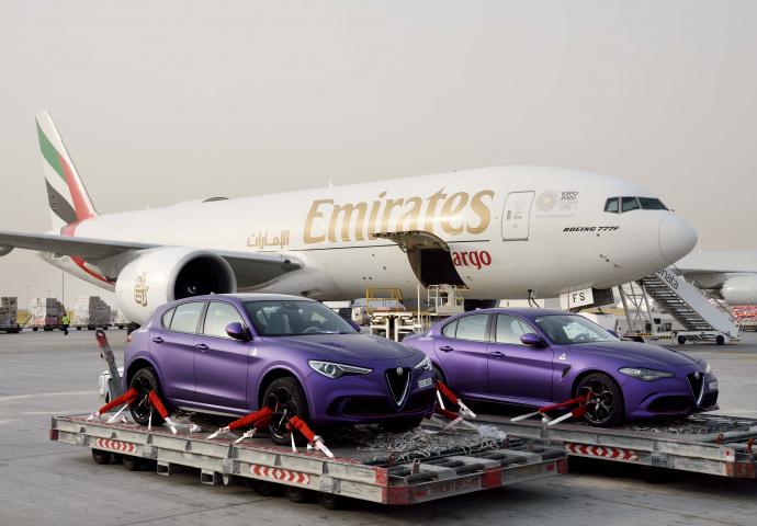 Emirates, Skycargo, Skywheels, Gargash