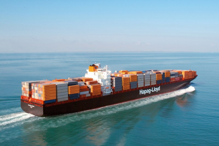 Hapag-Lloyd, Container shipping, Jebel Ali, East Africa