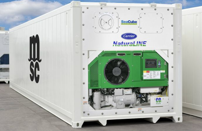 The ability to achieve minus 40 Celsius was previously only attainable in container systems using a refrigerant with a GWP nearly 4,000 times higher. The NaturaLINE unit has managed this, along with high efficiency, a quiet operation and tight temperature control.