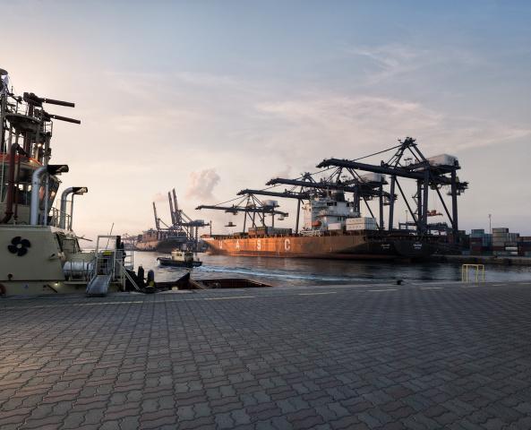 SOHAR Port & Freezone.