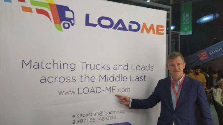 Sebastian Stefan, co-founder and CEO of Load-Me.