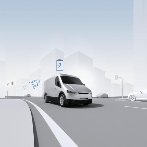 Bosch, Electric car, Commercial vehicles, E-commerce, Last mile