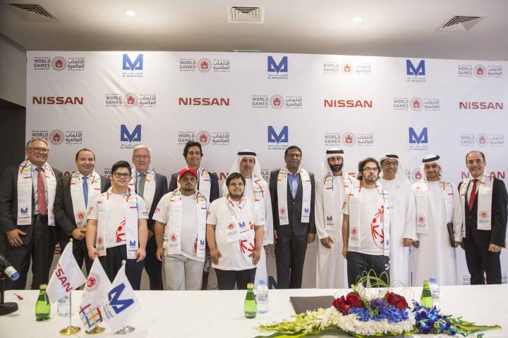 Al Masaood, Special olympics, Abu dhabi, Transport, Logistics