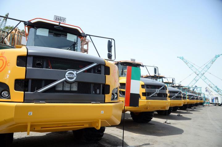 Truck, Heavy hauler, Volvo, Famco, Uae