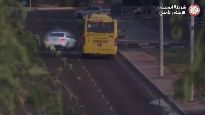 Roads, School bus, Abu dhabi, Transport